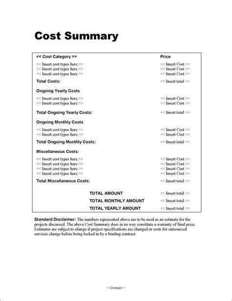 design cost proposal proposal pack for government grants software and sles