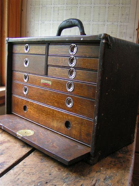 Union Drawers by Vintage Union Tool Chest Wood Machinist S Chest With