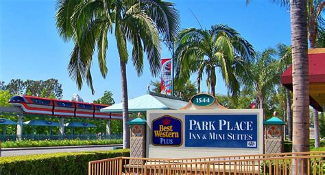 closest best western hotels to dsineyland park place inn mini suites