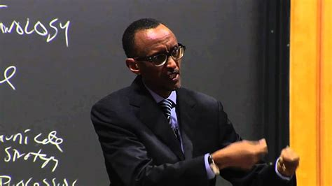 Mba Class President by President Kagame Speaks To Harvard Business School Class