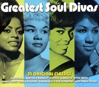 greatest soul divas  original classics  cd