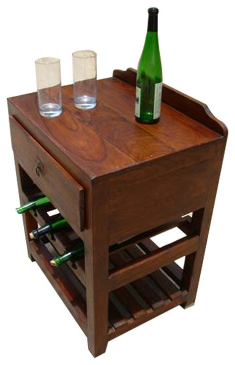 Wine Rack Drawer Insert by Wood Wine Rack Liquor Storage Drawer Shelves Side Table