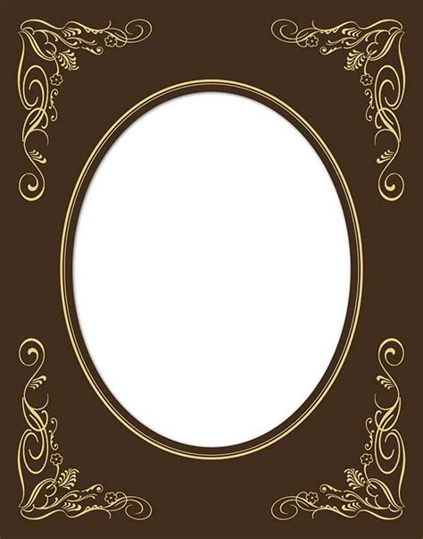 Oval Mat For Picture Frame by Foil Mats Kendalls Photo Frames