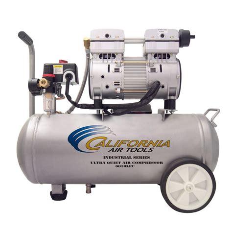 california air tools 6 0 gal 1 0 hp ultra and free industrial air compressor 6010lfc