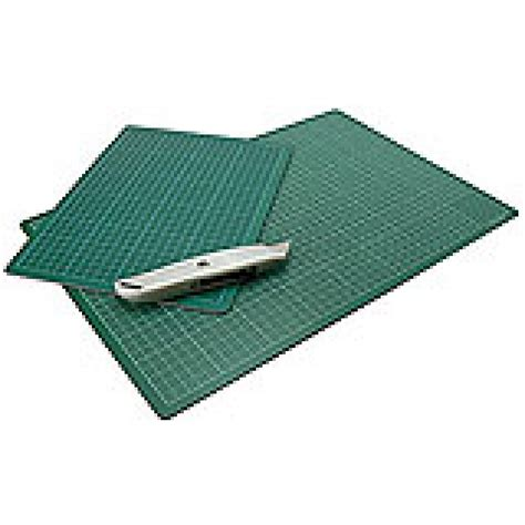 Drafting Mat by Cutting Mat Green Opaque A4 210x300mm Jacksons Drawing