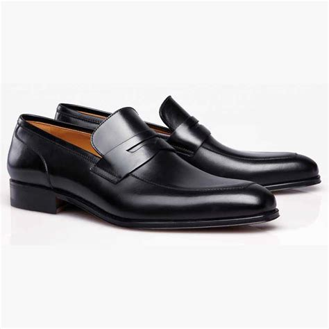 images of loafers stemar napoli calfskin loafers black