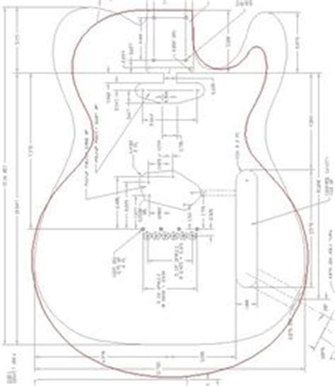 les paul routing template 27 images of les paul template infovia net