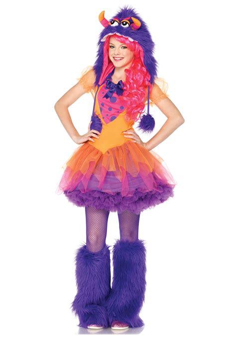 cutehalloweenmonstercostumes teen girl halloween