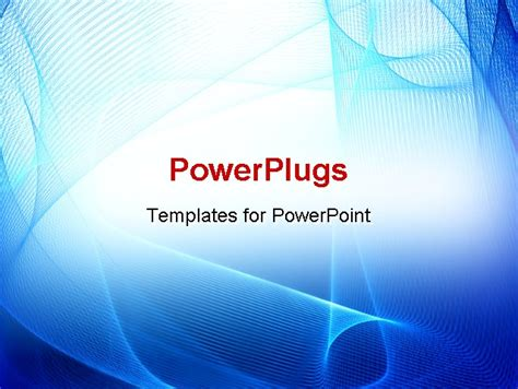 powerpoint templates for science abstract blue business science or technology background