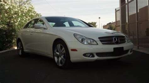 sell used 2010 mercedes benz cls550 diamond white in phoenix arizona united states for us