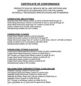 certificate of conformance template word sle certificate of conformance 19 documents in pdf