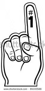 foam finger template number 1 finger clipart bbcpersian7 collections