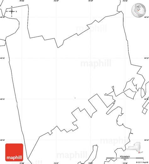 blank simple map  zip code   labels