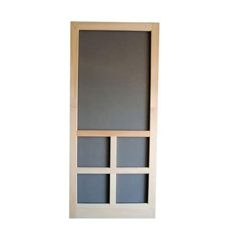 shop screen tight fredrick wood screen door at
