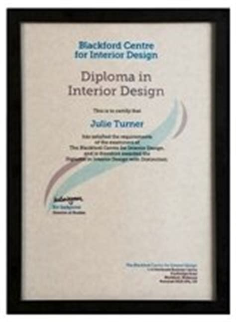 interior design certification accredited diploma in interior design course