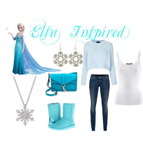 Queen Purse casual elsa outfit inspired polyvore