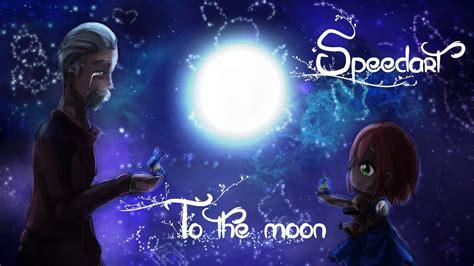 I To The Moon speedart to the moon fanart