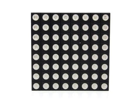 Led Dot Matrix 8x8 rgb led dot matrix compatible with rainbowduino arduino compatible seeed studio