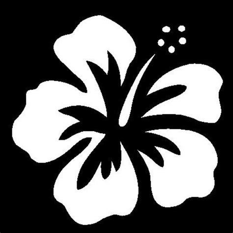 Hibiscus Flower Stencil Hawaiian Flower Template