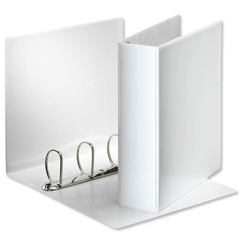 Bantex Data Ring Binder 4 Ring 9 12 X 11 Kapasitas 35mm Ref1593 esselte presentation ring binder a4 white 65mm size 4 d ring 600555 49706 huntoffice ie