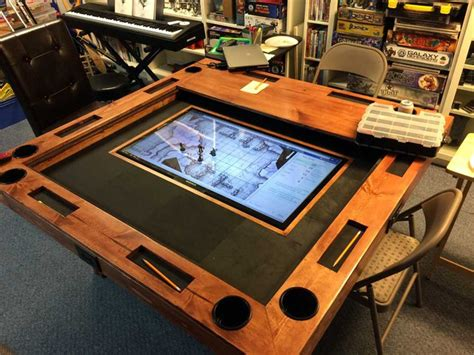 Big D And The Table Tour by Diy Tabletop Gaming Table World Building Technabob