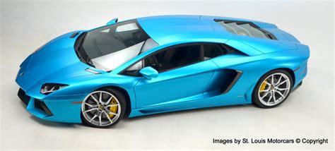 Blue Lamborghini For Sale Unique Blue Wrapped Lamborghini Aventador For Sale
