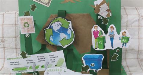 maquetas de ciudades con material de reciclaje ideashot maqueta del ciclo del reciclaje