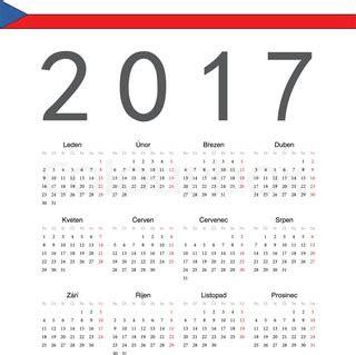 Vierteljahres Kalender 2016 Kalender 2017 Stock Vektor Colourbox