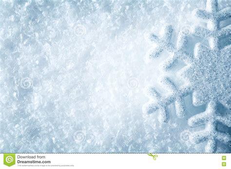 Snow Blue snowflake on snow blue snow flake crystals winter