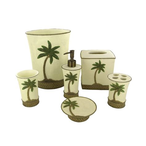 palm tree bathroom accessories tommy bahama island song bath accessories from