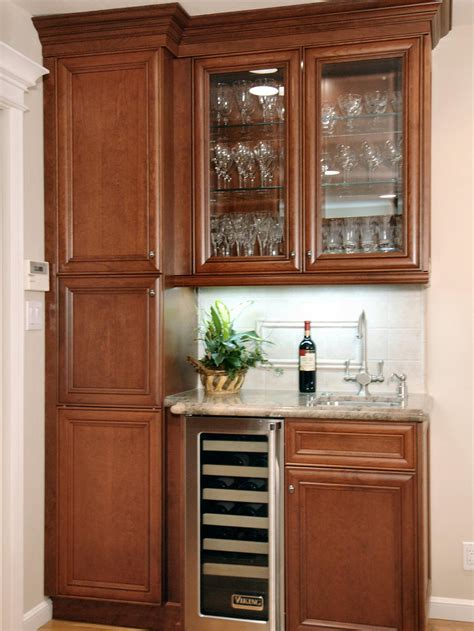 kitchen bar cabinet ideas photos hgtv
