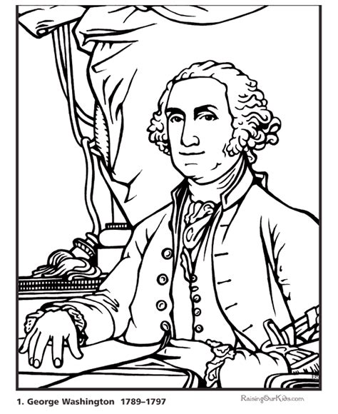 george washington coloring page crayola com printable president george washington coloring page and