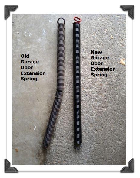 garage door extension repair 1000 ideas about garage door extension springs on