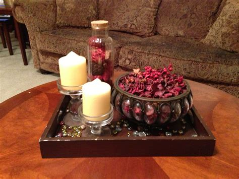 Coffee Table Centerpieces - coffee table decor potpourri and candle holder boom easy eccellgroup office pinterest