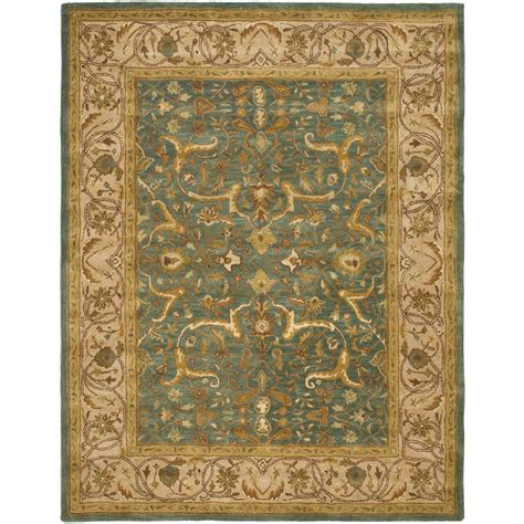 Area Rugs Blue And Beige Safavieh Heritage Blue Beige 8 Ft 3 In X 11 Ft Area Rug Hg915a 9 The Home Depot
