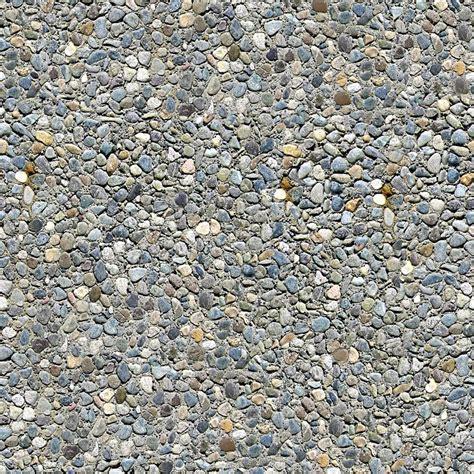 texture ghiaia rocce e ghiaia seamless texture piastrelle foto stock