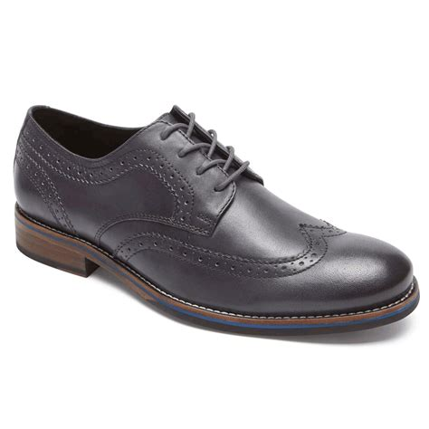 most comfortable wingtip shoes wyat wingtip oxford rockport 174 comfortable men s shoes