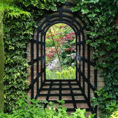 Mirrors And Outdoor Space Mirror Mirror On The Wall Outdoor Garden Wall Mirrors
