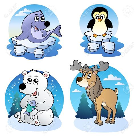 imagenes animales invierno animals in winter clipart clipartxtras