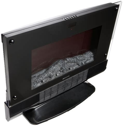 bionaire electric fireplace heater with remote