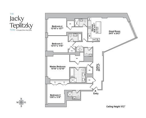 10 madison square west floor plans 10 madison square west flatiron nomad manhattan scout