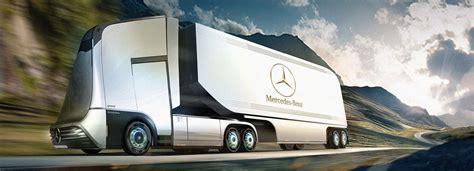 mercedes benz semi autonomous truck concept wordlesstech