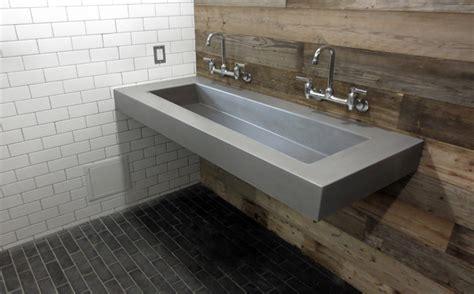 cement bathroom sink custom concrete sink portfolio trueform