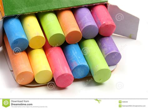 colored tims colored chalks royalty free stock image image 609536