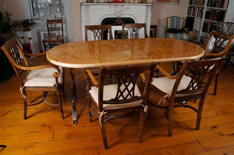 maple dining room table oval burl maple dining table on stainless steel base for