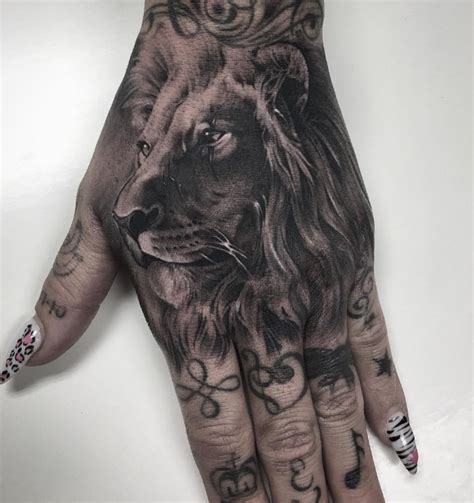 lion finger tattoo 56 tattoos ideas to show strength and bravery
