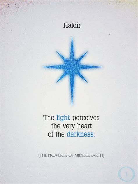 The Proverbs Of Middle Earth the call