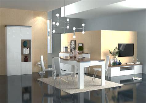 soggiorno sala da pranzo tavolo moderno bianco messico mobile per sala da pranzo