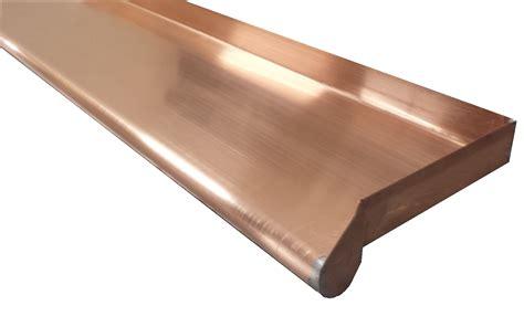 fensterbleche preise fensterbank titanzink kupfer ausladung bis 115mm metall in