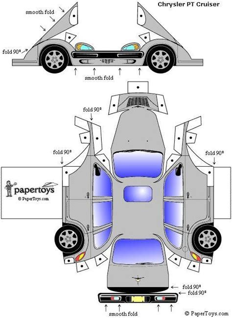 How To Make A Papercraft Car - 18 best pt cruiser images on cars i don t